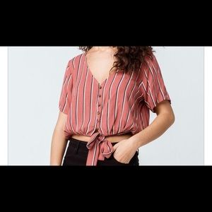 Cropped blouse :)